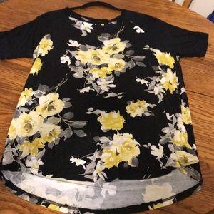 Yellow Rose Shirt, 1XL